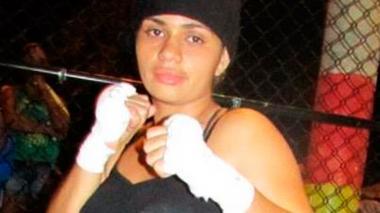 La pegadora cordobesa Diana Ayala, de 28 años.