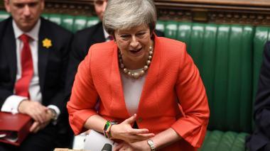 May logra apoyo del parlamento británico para nueva estrategia sobre el Brexit