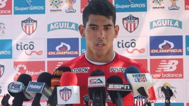 Reynaldo Fontalvo pasó por el Junior principal.
