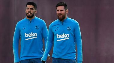 Luis Suárez y Lionel Messi, dos de las amenazas que tiene hoy el Real Madrid.