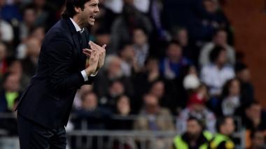 """""""Estamos otra vez de pie"""": Solari antes del Real Madrid-Barcelona"""