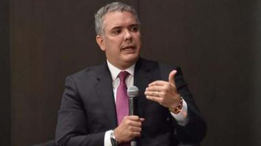 Duque insiste que Colombia seguirá acompañando cerco diplomático contra Maduro