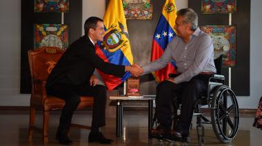 Líder opositor venezolano Juan Guaidó llega a Ecuador para cita con Moreno