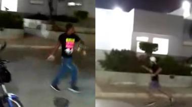Con estas imágenes de video, la Policía espera dar con los vándalos.