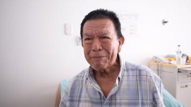 En video   Las lágrimas de Gabriel Ramírez, el cumbiambero mayor que no pudo bailar en el Carnaval