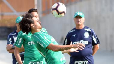 Ricardo Goulart, delantero del Palmeiras.