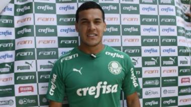 Gustavo Gómez, defensa central del Palmeiras.