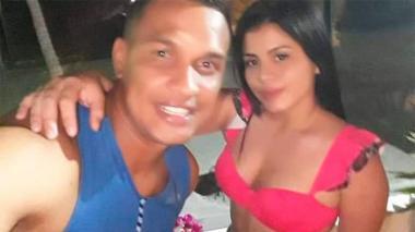 David Gutiérrez Roncancio con María Alejandra Galán.
