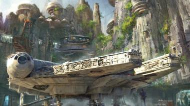 Un viaje en el Halcón Milenario es la  nueva atracción de los parques Disney