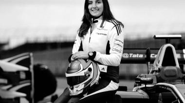 La piloto colombiana Tatiana Calderón hace parte de la escudería BTW Arden.