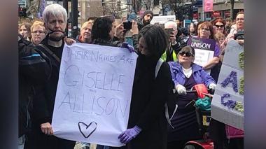 Rinden homenaje a mujer barranquillera y su hija asesinadas en Irlanda del Norte