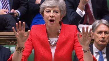 Theresa May se encamina a otra histórica derrota de su acuerdo de Brexit