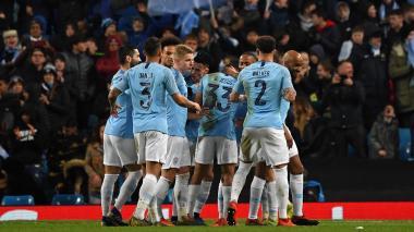 Manchester City se mete en cuartos de Champions con goleada 7-0 al Schalke
