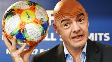 Gianni Infantino, presidente de la Fifa, viene impulsando la idea de un Mundial de Clubes con 24 equipos.