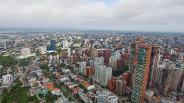 Vista panorámica de Barranquilla.