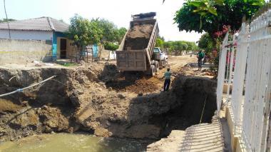 Fondo Adaptación reclama celeridad en reparación del alcantarillado de Campo de la Cruz
