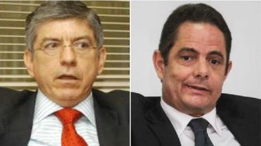 César Gaviria y Germán Vargas Lleras.