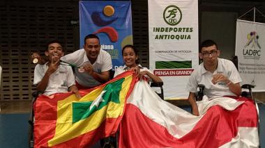 Boccia local celebra medallas a nivel nacional