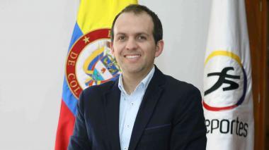 Ernesto Lucena, director de Coldeportes.