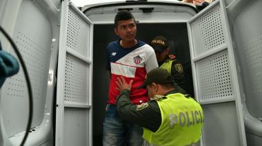 Raúl José Barrios Altamar, capturado por el asesinato de una menor de tres años.