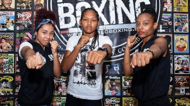Yuranis Pino, Jere Quiroz y Kenny Redondo, son tres de las boxeadoras que competirán en el campeonato.