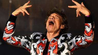 Mick Jagger, cantante de los Rolling Stones.
