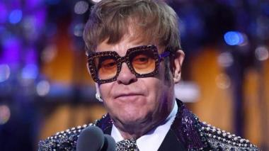 El cantautor británico Elton John.