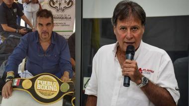 Julio Torres y Enrique Vengoechea.