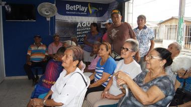 En Malambo, 4.062 adultos mayores reciben pago Colombia Mayor