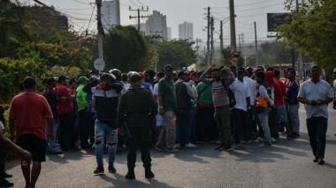 Habilitan paso por corredor universitario tras protestas de mototaxistas