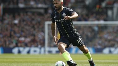 Agüero es baja del City contra el Cardiff por lesión
