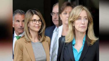 A la corte, dos extrellas de Hollywood señaladas de pagar coimas para que sus hijas entraran a la universidad