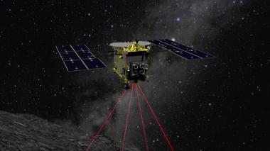 En video | La sonda japonesa Hayabusa2 intenta crear un cráter en un asteroide
