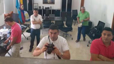 Por orden de Rugeles revisan información de los PC del despacho del Alcalde de Santa Marta