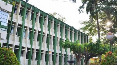 Fachada de la Universidad de Córdoba.