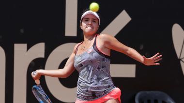 María Camila ganó su primer partido en un torneo WTA