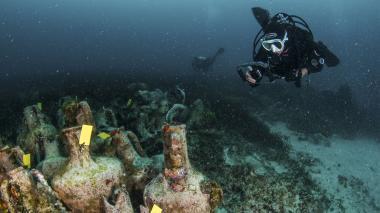 Grecia contempla abrir a visitantes sitios de arqueología submarina