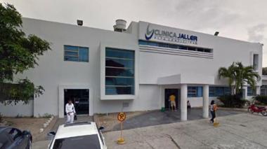 Hugo Nieto Molina recibe atención en la clínica Jaller.