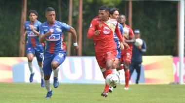 Unión consiguió 3 puntos 'dorados' ante Rionegro