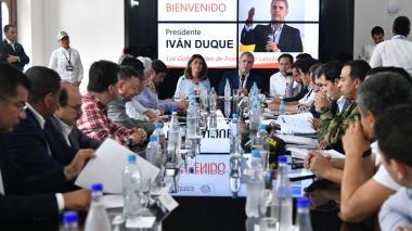 En vivo | Declaraciones del Presidente Iván Duque desde Cúcuta.