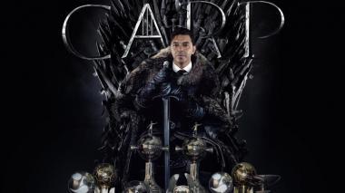 Marcelo Gallardo en el trono de