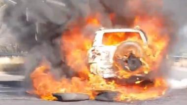 En video | Grupo armado irrumpe en comandancia de México y deja cuatro muertos