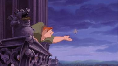 Quasimodo en el film de Disney 'El jorobado de Notre Dame' (1996).