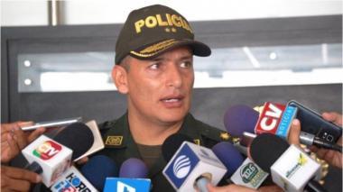 General Mariano Botero Coy, comandante de la Policía Metropolitana de Barranquilla.
