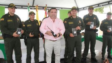 Para reforzar seguridad ciudadana, Distrito entrega más equipos a la Policía