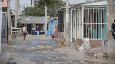 Carrera 13 con calle 12, sector del barrio La Chinita, donde fue baleado el menor.