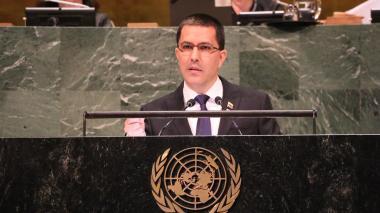En video | Canciller de Venezuela fue boicoteado por Grupo de Lima en la ONU