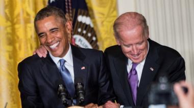 Joe Biden fue fórmula vicepresidencial de Barack Obama.