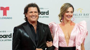 El brillo y transparencias dominaron la alfombra roja de los Billboard latinos 2019