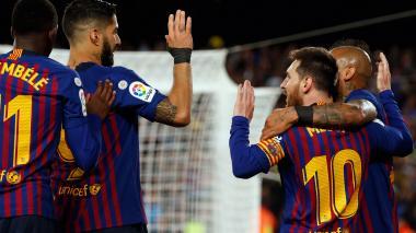 Los cinco partidos que llevaron al Barcelona hasta el título de Liga